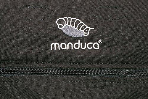 Manduca Babytrage 222-02-60-000, Bauch-, Rücken- und Hüfttrage, schwarz - 7