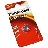 foto-kontor Panasonic SR44 Silberoxid Batterie Knopfzelle 1,55V ersetzt 303 357 EPX76 V76PX AG13 LR44 RW42 SR44W D357