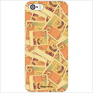 Design Worlds Back Cover Case For Apple Iphone 5/5S (Multicolor)