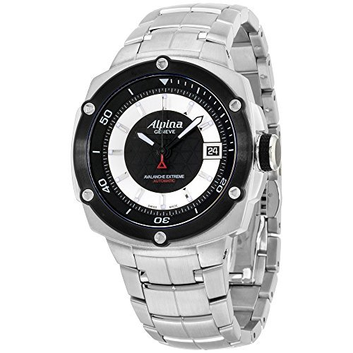 Alpina Men's Avalanche Extreme 42mm Steel Case Automatic Watch AL-525LBS3AE6B