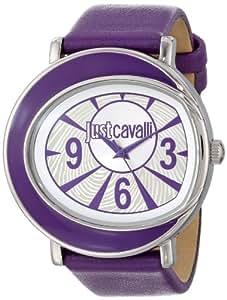 Just Cavalli Damen-Armbanduhr Analog Quarz Leder R7251186501
