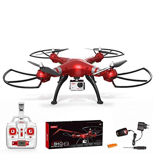 Quadrocopter Syma X8HG Drone 2,4HGz 6-Aachen-Gyro RC distance avec caméra HD