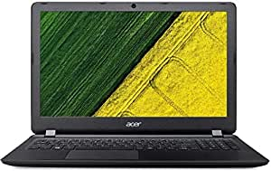 Acer Aspire ES 15, ES1-523 15.6-inch Laptop (AMD A4-7210/4GB/500GB/Windows 10/AMD Radeon R3 Graphics), Midnight Black.