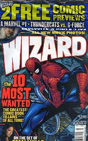 Wizard n°138 , the comics magazine. rating the rogues -