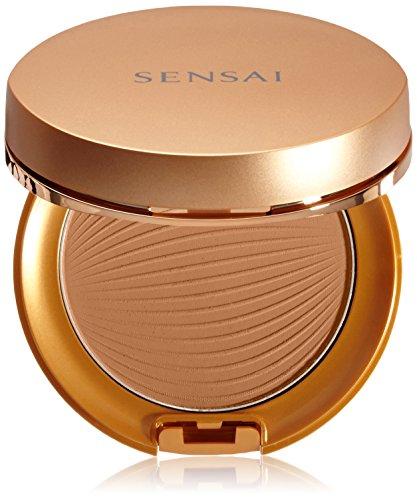 Sensai Silky Bronze femme/woman, Sun Protective Compact SPF30 Nr. SC04 Dark, 1er Pack (1 x 9 g)