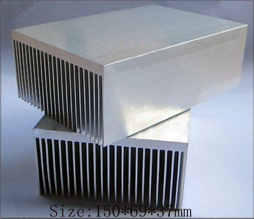 1Dissipateur thermique haute puissance 150x 69x 36mm en aluminium extrudé de chaleur évier Évier de la chaleur de radiateur pour 20–100W LED dissipation de la chaleur