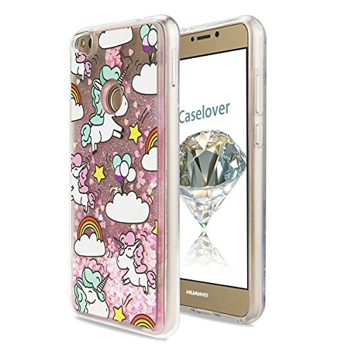 Caselover Holster Huawei P8 Lite 2017, Bling Silicone Cases for Huawei P8 Lite 2017
