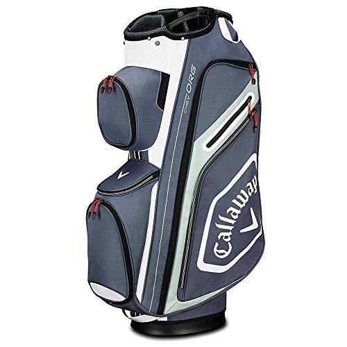 Callaway Golf Org Sac de Golf pour Homme Titane/Blanc/argenté Taille Unique