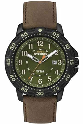 Timex Herren-Armbanduhr Expédition Rugged Analog Quarz T49996 (Timex Grünen Band)