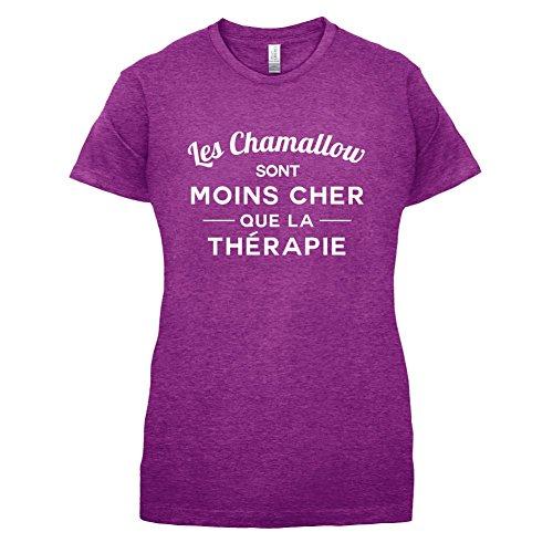 Les chamallow sont moins cher que la thérapie - Femme T-Shirt - 14 couleur Rose Antique
