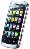 LG KM570 Arena II Handy (7,6 cm ( 3 Zoll ) Display, Touchscreen, 5 Megapixel Kamera) silber