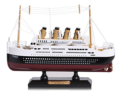 RMS Titanic Schiff Holz Modell 20cm (Schiffs Modell Aus Holz)