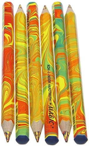 KOH-I-NOOR MAGIC-Matite colorate Jumbo speciali nell'imballaggio di cartone