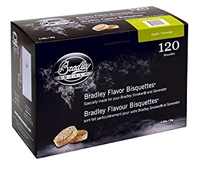 Bradley Smoker Apple 120 Pack from Bradley Smoker