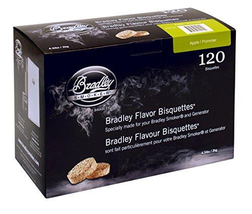 Bradley Smoker BTAP120 Apfel Bisquetten 120 Pack