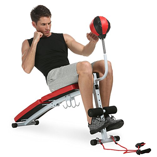 gym-weight-bench-fully-adjustable-folding-dumbbell-speed-ball