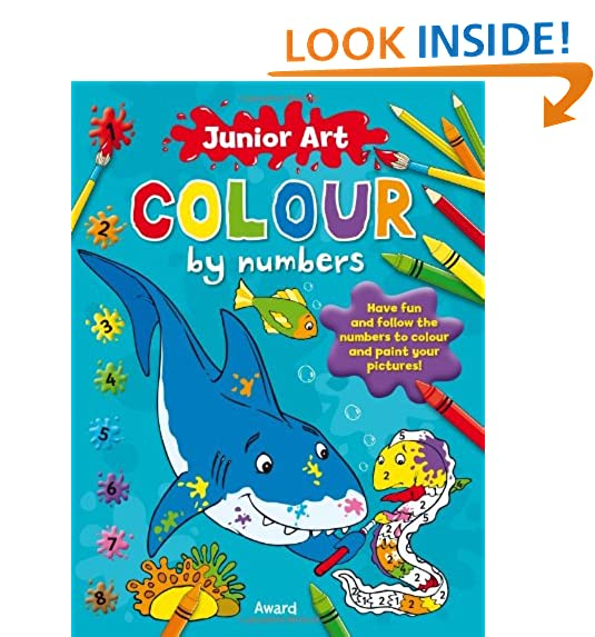 Colour by Numbers: Amazon.co.uk