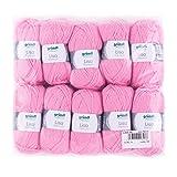 Gründl Lisa Premium Wolle, Polyacryl, rosa, 32 x 27 x 6 cm