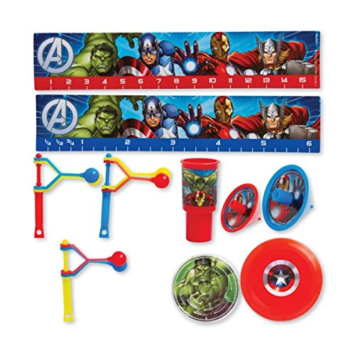 mble 48 Piece Party Favour Kit by Marvel ()