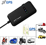 XCSOURCE Vehicle Tracker Real-time Locator GPS/GSM/GPRS/SMS Tracking Motorcycle Car Bike Antitheft AH207