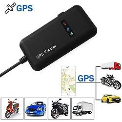 XCSOURCE® Träger Verfolger Realzeitlokator GPS / GSM / GPRS / SMS, der Motorrad Auto Fahrrad Diebstahlsicherung Antitheft AH207
