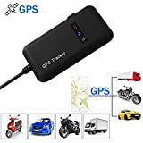 XCSOURCE Vehicle Tracker Real Time Locator GPSGSMGPRSSMS Tracking Motorcycle Car Bike Antitheft AH207