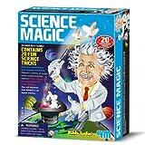 Coffret Jeu Science Magique 20 tours de magie pour Enfants 8 ans +