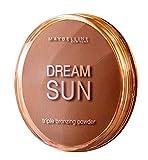 Maybelline Dream Terra Sun Bronzing Puder Nr. 2 Golden, zaubert eine zart schimmernde Sommerbräune zu jeder Jahreszeit, für eine frische Ausstrahlung, angenehmes Tragegefühl, 15 g