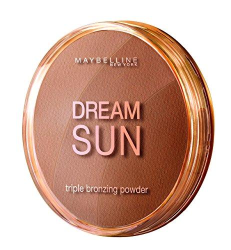 Maybelline Dream Terra Sun Bronzing Puder Nr. 2 Golden, zaubert eine zart schimmernde Sommerbräune...