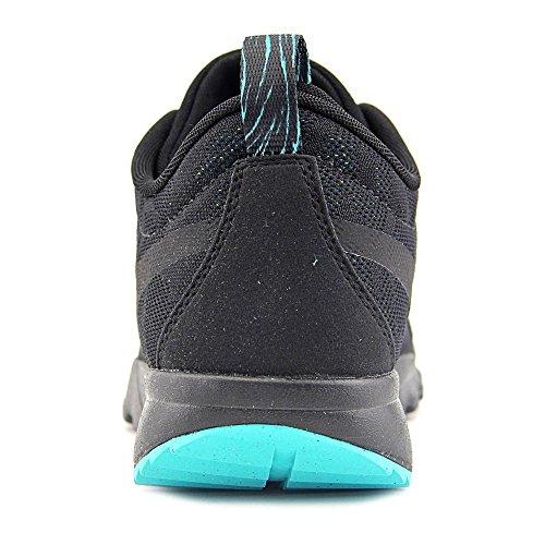 Nike Trainerendor, Scarpe da Skateboard Uomo, Talla Nero/nero-verde-verde (Black/Black-Clear Jade-Volt)