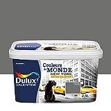 Dulux Valentine 5254044 Monde-Edition Collector Einstrichfarbe, für alle Innenräume, New York Intense (Grau), 2,5 l