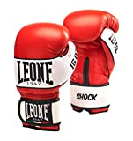 Leone 1947 Shock Gloves, Red, 12 Oz