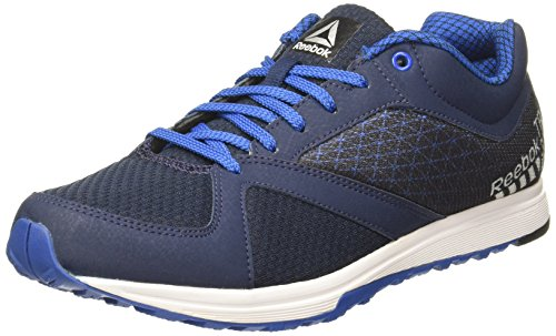Reebok Men's Train Navy/Blue/Silver/White Multisport Training Shoes - 6 UK/India (39 EU) (7 US)