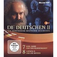 Die Deutschen, Staffel II, Teil 4 (Episoden 7 & 8), 1 Blu-ray, Gesamtlänge: ca. 90 Minuten