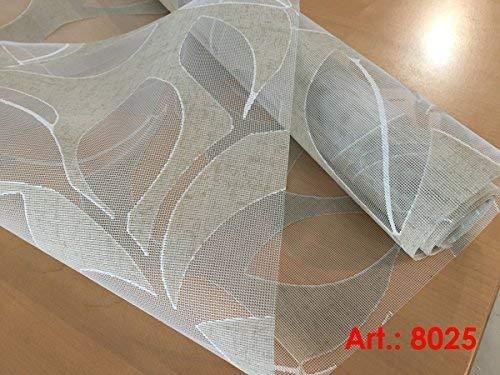 plisseeonline Rideau Coulissant 8025 50 x 250 cm avec revêtement en Aluminium
