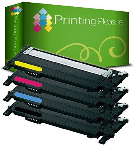 Kit 4 Toner Compatibili per Samsung CLP-360 CLP-365 CLP-365W CLP-368 CLX-3300 CLX-3305 CLX-3305FN CLX-3305W CLX-3305FW Xpress C410W C460W C460FW C467W - Nero/Ciano/Magenta/Giallo, Alta Resa
