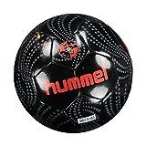 Hummel Pallamano per adulti Fussball Kinetic Football, Black, 5, 91–807–2001
