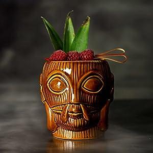 Bora-Bora-Tiki-taza-marrn-16-oz450-ml--cermica-hawaiano-cctel-taza