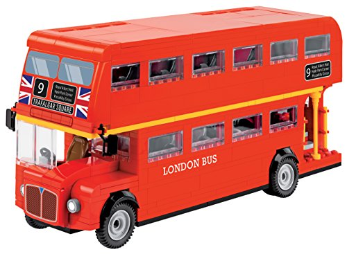 COBI 1885 Spielzeug London Bus, Rot (Lego London Bus)