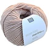 Merinowolle Babywolle Rico Merino dk Fb. 21 puder zum Stricken & Häkeln