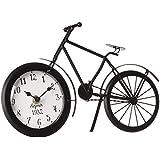 Pendule horloge originale - Forme Vélo - Coloris NOIR