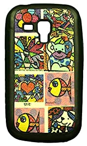 Zeztee ZT8109 Multicolor print Mobile Back Cover For Samsung 7562 Galaxy S Duos