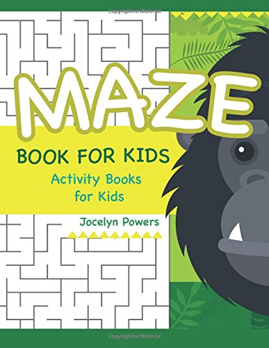 Maze book for kids: Activity Books for Kids (Easy Maze for Kids)