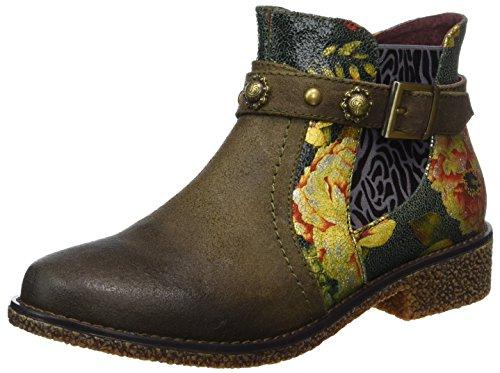 Laura Vita Damen Coralie 04 Chelsea Boots, Grau (Taupe), 40 EU