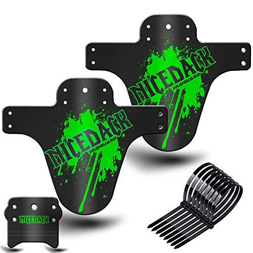 NICEDACK Mud Guard, 2 Stücke Fahrrad Schutzbleche für 26