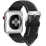 5 Farben für Apple watch Armband, Fullmosa® Bosin Bambus Textur Hauptschicht Rindsleder...