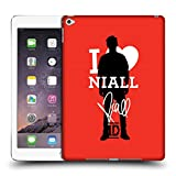 Head Case Designs Ufficiale One Direction Niall Firma Rosso Febbre One Direction Cover Dura per Parte Posteriore Compatibile con iPad Air 2 (2014)