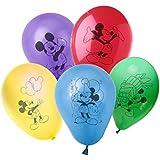 MWS2687 – PB10022 Pack de 30 globos con motivo de MICKEY MOUSE de DISNEY – decoración para fiestas de niños