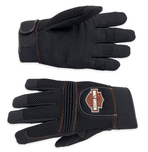 harley-davidson-handschuh-mesh-full-finger-98263-07vm-herren-accessory-schwarz-xxxl