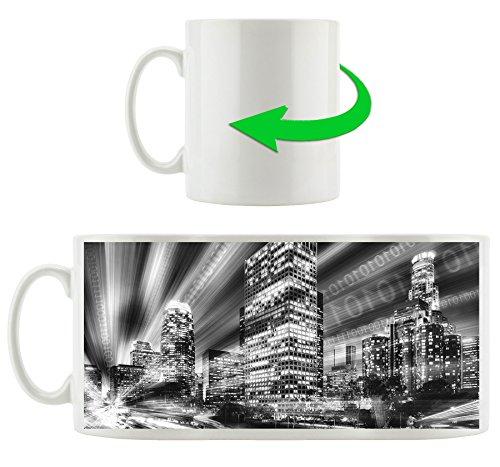 Matrix-trinken (Monocrome, Los Angeles Matrix, Motivtasse aus weißem Keramik 300ml, Tolle Geschenkidee zu jedem Anlass. Ihr neuer Lieblingsbecher für Kaffe, Tee und Heißgetränke)